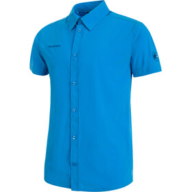 Mammut Trovat Light Bluzka z krótkim rękawem Mężczyźni niebieski